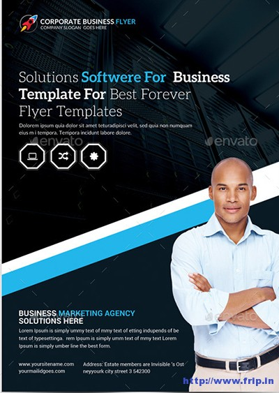Premium-Web-Hosting-Flyers