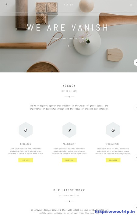 Vanish-WordPress-Theme