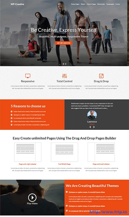 WP-Creative-WordPress-Theme