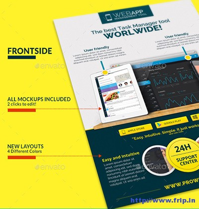 Web-App-Tech-&-Hosting-Business-Flyer