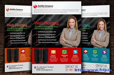 Web-Hosting-Business-Flyer-Template