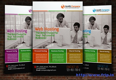 Web-Hosting-Business-Flyer-Templates