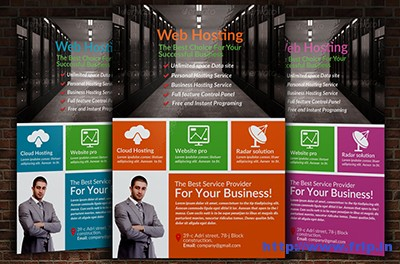 Web-Hosting-Business-Flyer-Templatess