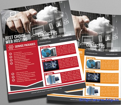Web-Hosting-Business-Flyer