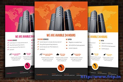 Web-Hosting-Flyer-Template