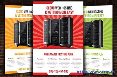Web-Hosting-Flyer-Templatess