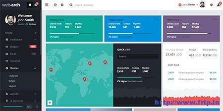 Webarch-Admin-Dashboard-Template