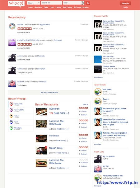 Whoop-Yelp-Clone-WordPress-Theme