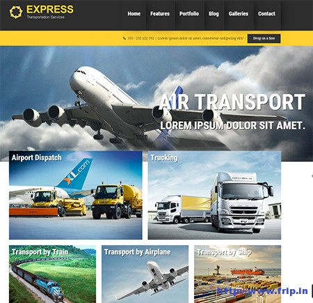 express-transportation-wordpress-theme