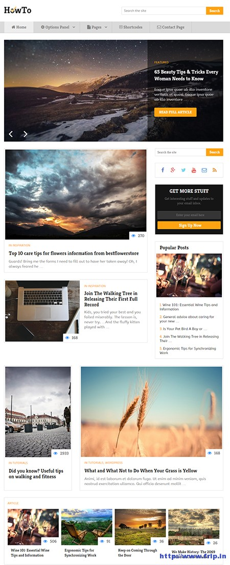 how-to-wordpress-theme