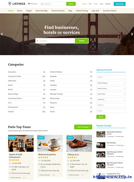 listings-directory-wordpress-theme