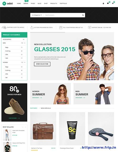 Adot-eCommerce-WordPress-Theme