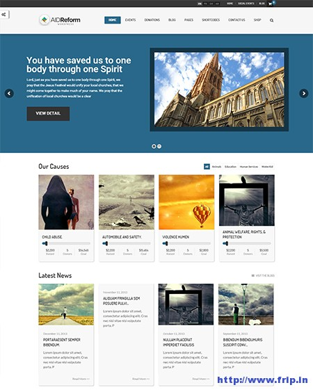 AidReform-NGO-Donation-&-Charity-WordPress-Theme