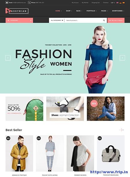Assyrian-Fashion-WordPress-Theme