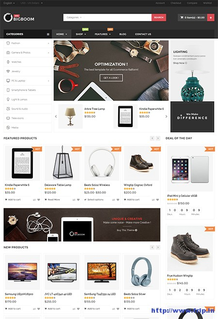 Bigboom-eCommerce-WordPress-Theme