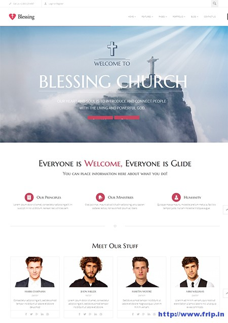 Blessing-Non-–-Profit-WordPress-Theme
