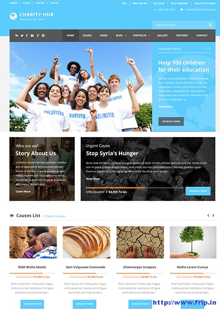 Charity-Hub-Nonprofit-WordPress-Theme