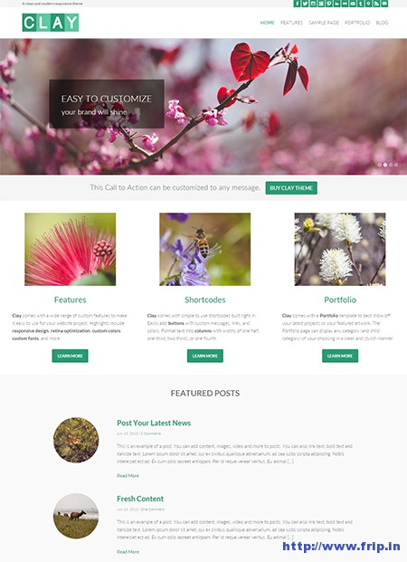 Clay-Responsive-WordPress-Theme