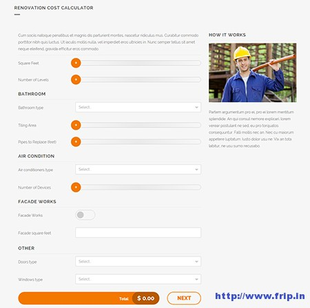cost calculator wordpress plugin free download
