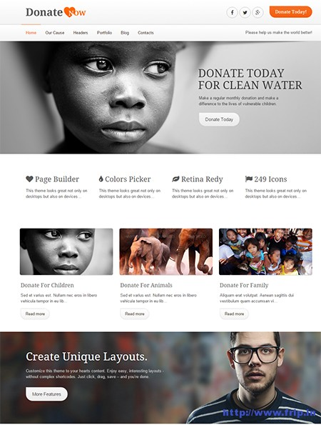 Donate-Now-WordPress-Theme-for-Charity