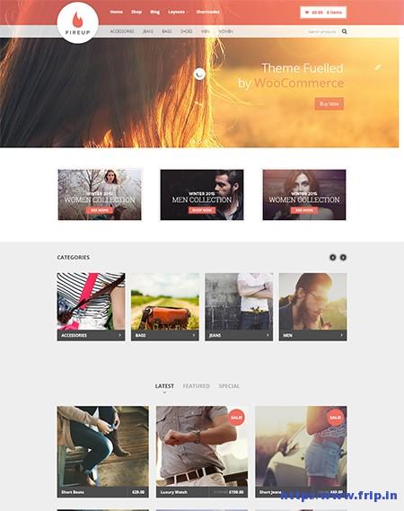 Fire-Up-WooCommerce-WordPress-Theme