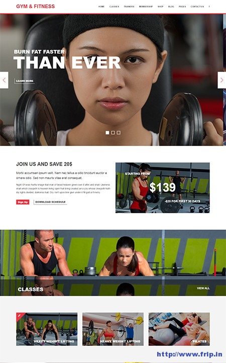 Gym-&-Fitness-WordPress-Theme