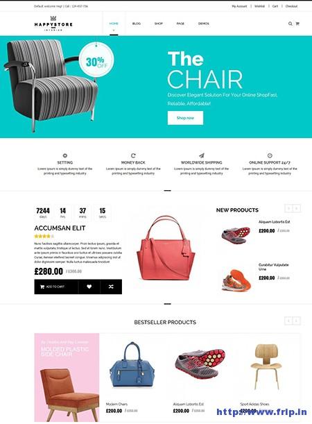 HappyStore-WordPress-WooCommerce-Theme
