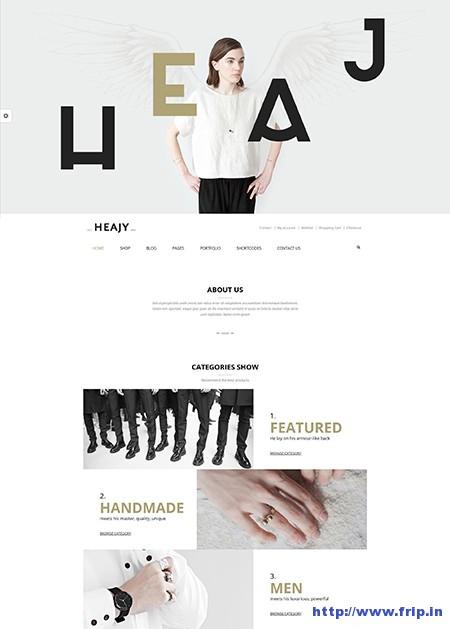 Heajy-Handmade-Fashion-WordPress-Theme