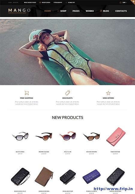 Mango-eCommerce-WordPress-Theme