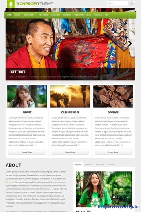 Non-Profit-WordPress-Theme