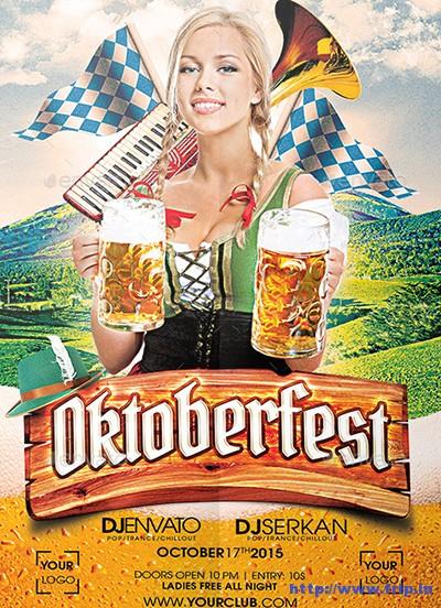 Oktoberfest-Flyer-Design