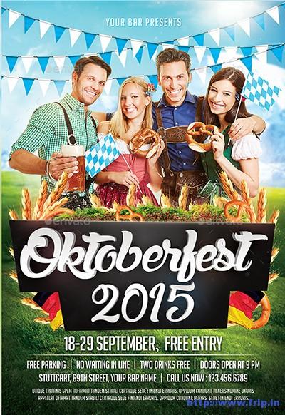 Oktoberfest-Flyer-Templates