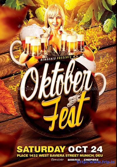 Oktoberfest-Flyers