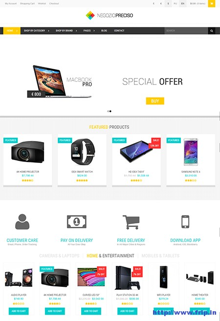 Preciso-Shopfront-WooCommerce-Theme