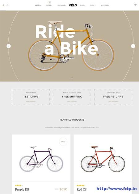 Velo-Bike-Store-WordPress-Theme
