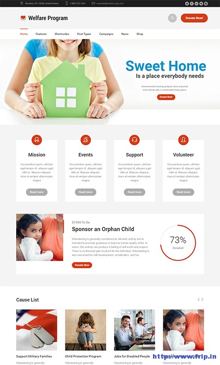 Welfare-Non-Profit-WordPress-Theme
