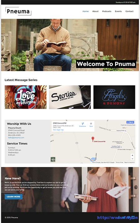 pneuma-church-wordpress-theme