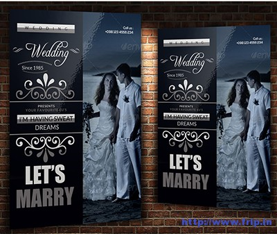 A4-Wedding-Flyer-Template