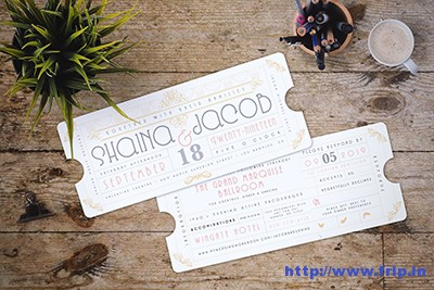 Art-Deco-Ticket-Wedding-Invitation