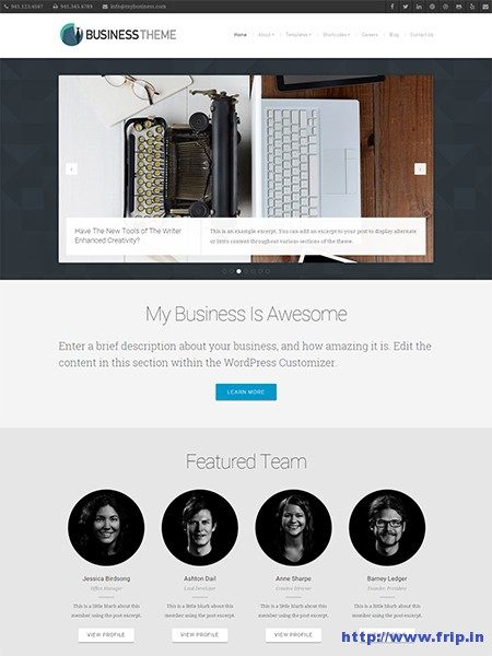 Business-Corporate-WordPress-Theme