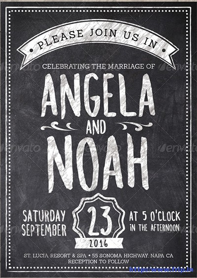 Chalk-Wedding-Invite-Pack