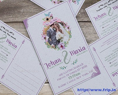 Floral-Wedding-Invitation