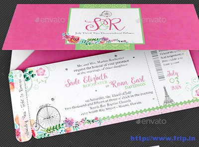 French-Wedding-Boarding-Pass-Invitation