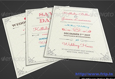 Fresh-Royal-Wedding-Invitation-Package