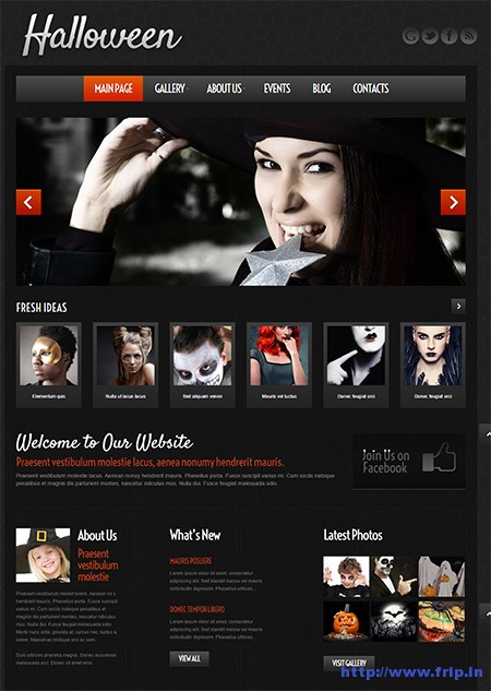 Halloween-Atmosphere-WordPress-Theme