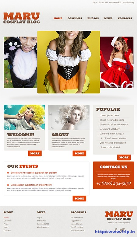 Halloween-Responsive-WordPress-Theme