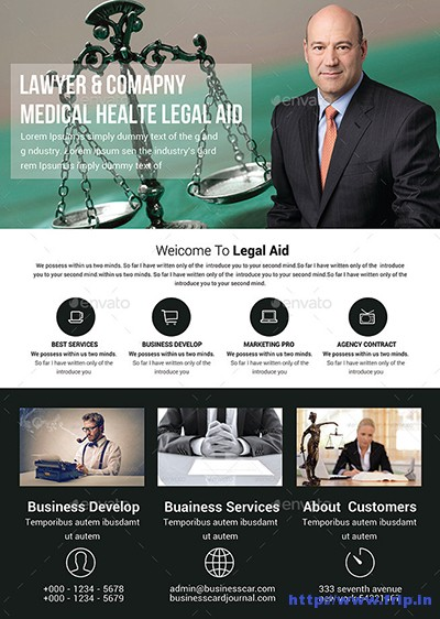 Lawyer-Firm-Business-Flyer-Template