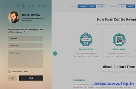 Ninja-Kick-WordPress-Contact-Form-Plugin