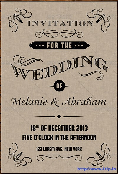 Old-Vintage-Wedding-Invitation