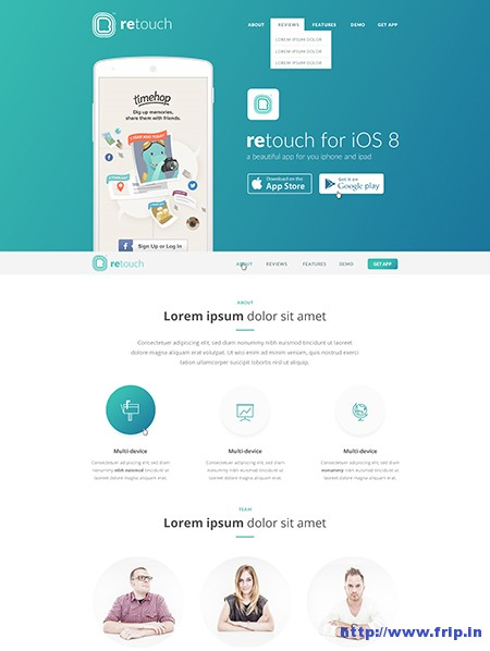 Retouch-App-WordPress-Theme